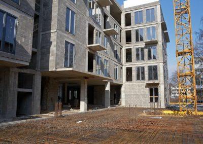 Aurum apartamentai - Daugiabutis projektas